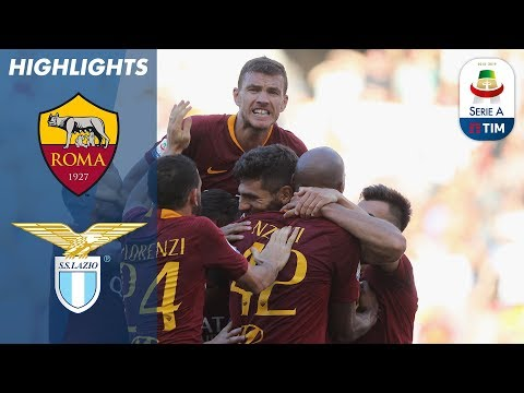 Roma 3-1 Lazio | Roma Win The Capital Derby | Serie A