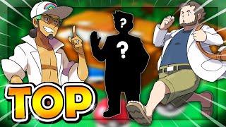 TOP 7 des PROFESSEURS POKÉMON les plus appréciés des JEUX VIDÉOS Pokémon (TOP FR)