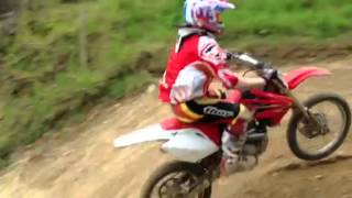 preview picture of video 'Chute motocross Plouer sur Rance'