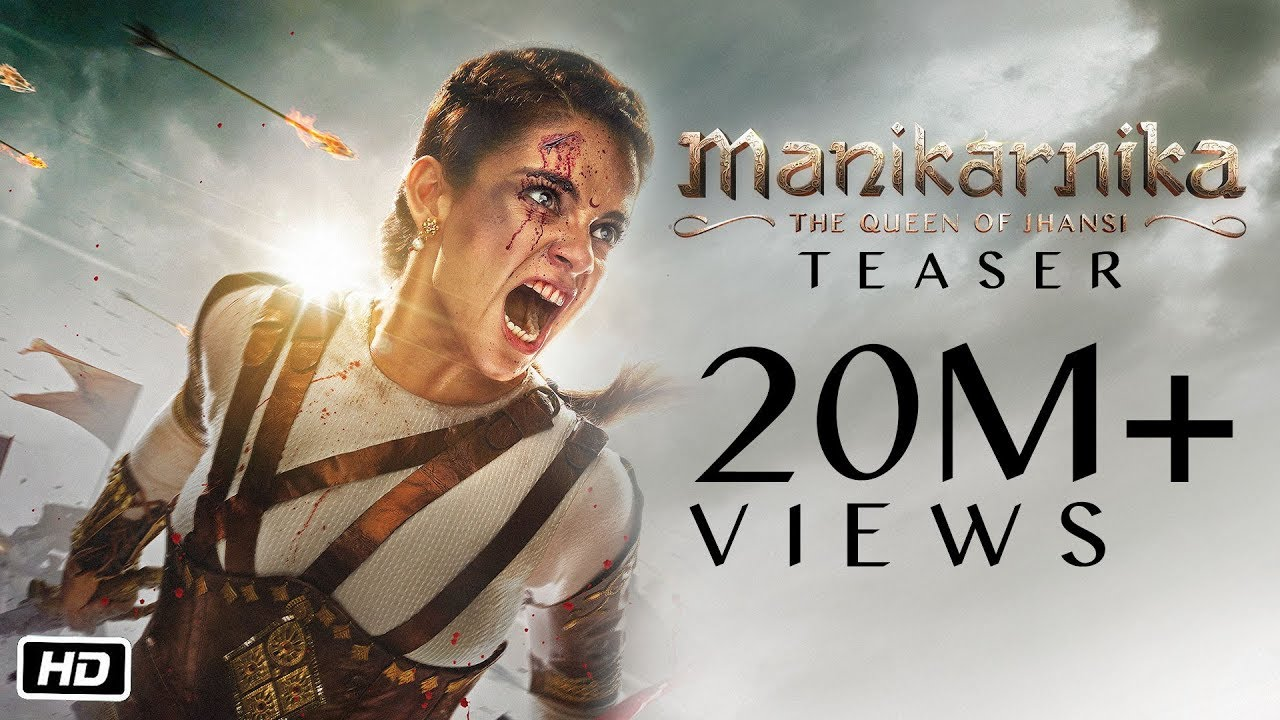 The Wait Is Over: Manikarnika: The Queen of Jhansi Teaser Has Been Released