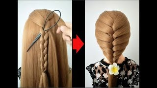 Top 10 amazing hairstyles ♥️ Hairstyles Tutorials ♥️ Easy hairstyles with hair  tools