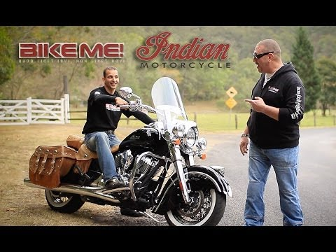 Indian Chief Vintage Motorcycle Review - BIKE ME!