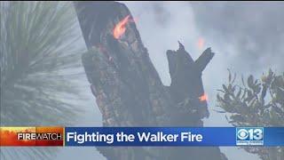 Fighting The Walker Fire