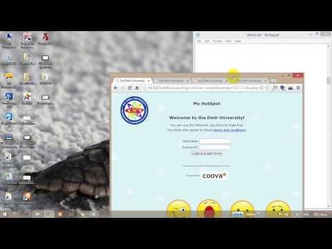 Chứng thực Captive portal trên Ubuntu (CoovaChilli+