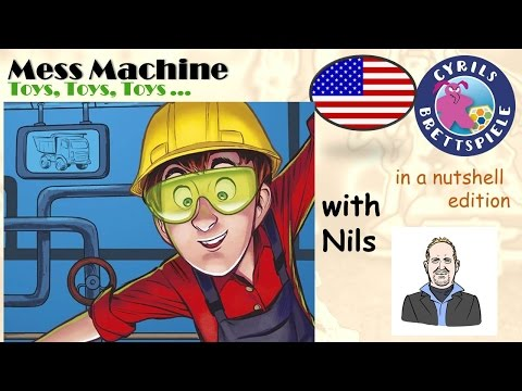Cyrils Brettspiele - Mess Machine - in a nutshell (N68) - Puzzle with friends