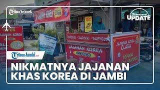 TRIBUN TRAVEL UPDATE: Pakai Produk Homemade, Jajanan Khas Korea di Kota Jambi Ini Tak Pernah Sepi