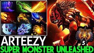 Arteezy [Bloodseeker] Super Monster Unleashed Counter Slark 26 Kills 7.22 Dota 2