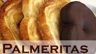 Como hacer Palmeritas de chocolate. Muy fácil!