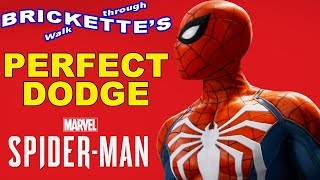 PERFECT DODGE and Dodge Under in Marvel's Spider-Man for PS4, Moves, Skills, Techniques