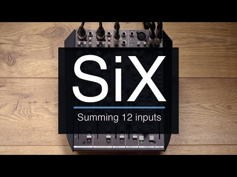 SSL SiX - Summing using 12 inputs