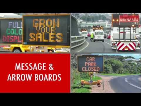 Hire MESSAGE BOARD - DIRECTIONAL ARROW