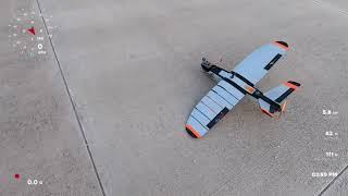 MHAVK FPV Mini Talon Gopro Hero7 Black Hypersmooth on Windy Day 32km/h Windspeed
