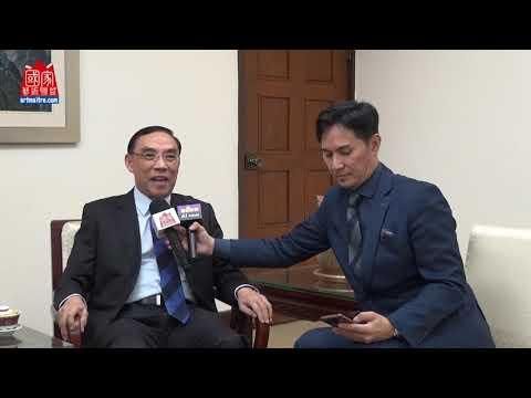2020年東亞彩墨生輝會員聯展 法務部部長 蔡清祥專訪