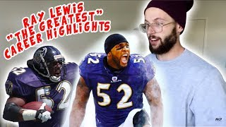 """Rugby Player Reacts to RAY LEWIS """"The Greatest"""" NFL Career Feature YouTube Video"""