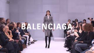 Balenciaga Women Winter 16 Show