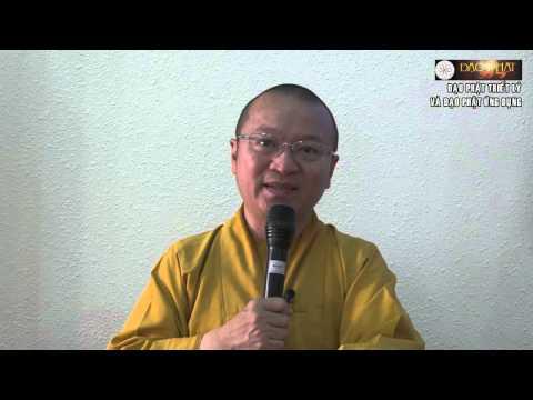 Đạo Phật triết lý và đạo Phật ứng dụng