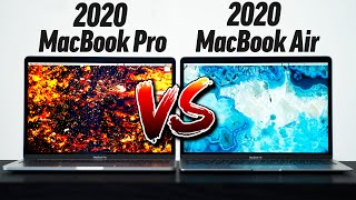 2020 MacBook Pro Vs 2020 MacBook Air - Full Comparison!