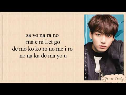 BTS (防弾少年団) - Let Go (Easy Lyrics)