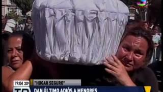 Dan el último adiós a víctimas de tragedia en hogar