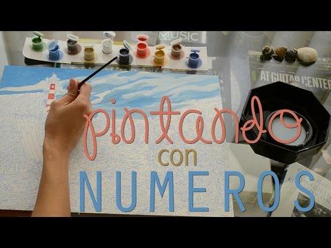 Febrero: pintando con números // Mayra Gomez
