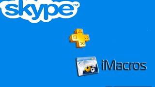 Skype + iMacros
