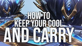 HOW TO KEEP YOUR COOL AND COMEBACK FROM A THROW AS A JUNGLER - HOW TO DOMINATE EP. 20