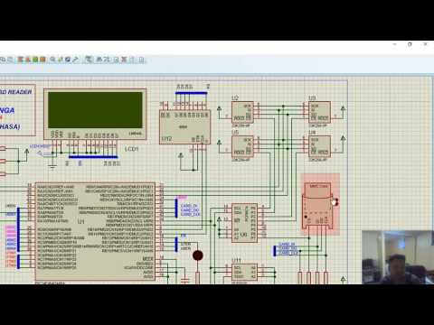 Simulation of Temperature Logger (Memory Card Based Project
