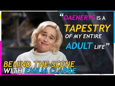 Game of Thrones S08: Behind the Scenes with Emilia Clarke
