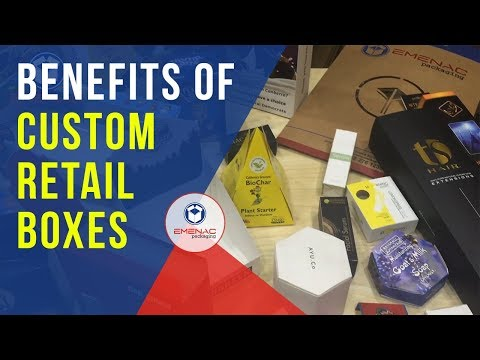 How Emenac Packaging can Benefit Your Product with Custom Retail Boxes?