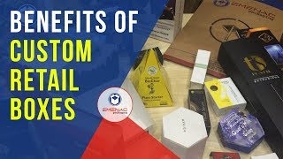 How Emenac Packaging can benefit your Product with Custom Retail Boxes