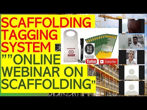 Scaffolding tagging system   green tag/ reg tag/ yellow tag   online ...