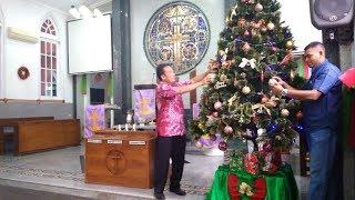 Persiapan Natal di Gereja Marturia dan Gereja Katedral Kristus Raja