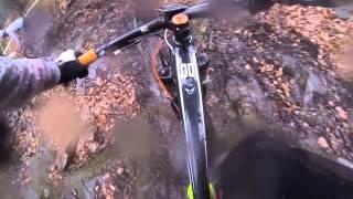preview picture of video 'Streckenbesichtigung mit Pacal Meyer beim MTB-Rennen in Rivera (Monte Tamaro)'
