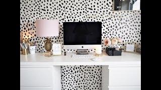 Home Office Tour - IKEA Desk Hack