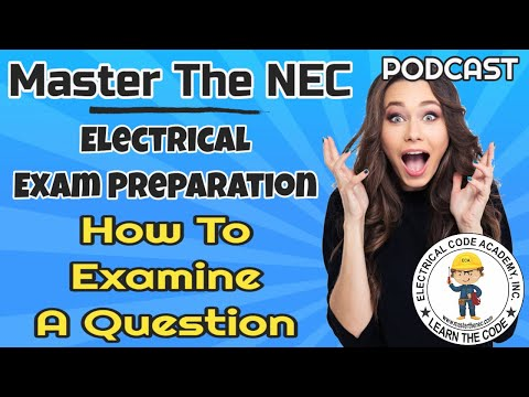 Master The NEC - Electrician Practice Exam Tips - YouTube