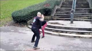 Gorka Ugarte – Defensa contra patada circular alta