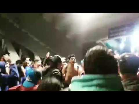 """""""Banda Azulgrana Previa Vs colo colo"""" Barra: Banda Azulgrana • Club: Deportes Iberia"""