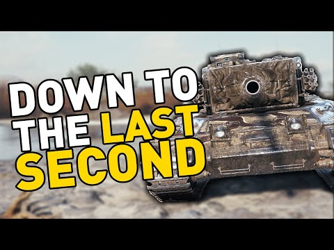 Down to the LAST SECOND in World of Tanks!
