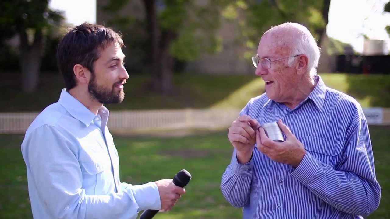 Aussie Physicist Demonstrates Mid-Air Slinky Magic