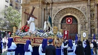 preview picture of video 'Jueves Santo -  Procesiones de la mañana - Semana Santa de Zaragoza 2014'
