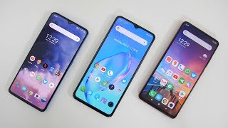 Realme X2 Pro vs Xiaomi Redmi K20 Pro vs OnePlus 7T - 10 Point Comparison