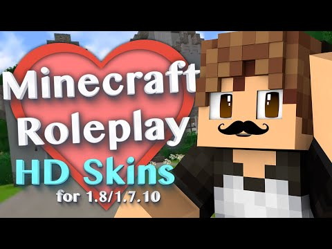 HD Skins in Minecraft! with More Player Models 2 Mod (Minecraft Roleplay Tutorial) Ep.2