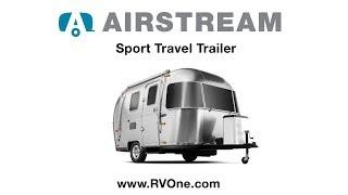New Airstream Sport Travel Trailer
