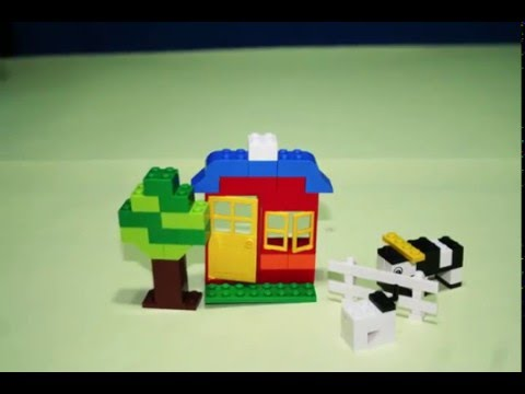 Vidéo LEGO Juniors 4626 : Boîte de briques LEGO