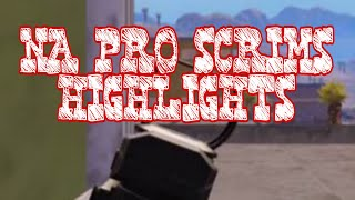 PUBG MOBILE/ NA PRO SCRIMS HIGHLIGHTS/ SV Edwin