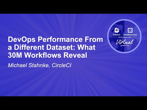 Image thumbnail for talk DevOps Performance From a Different Dataset: What 30M Workflows Reveal