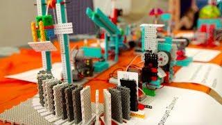 Классные механизмы от участников Олимпиады по Робототехнике