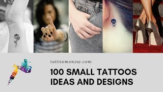 100 Small Tattoo Designs For Men And Women