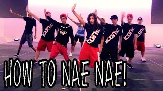 HOW TO NAE NAE | Dance TUTORIAL ft The Iconic Boyz (Hip Hop Moves) | DANCE TUTORIALS LIVE