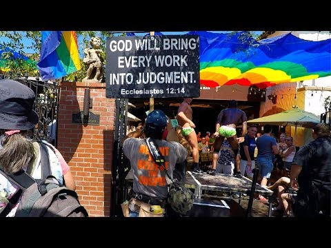 Hollywood gay pride 2018 thundering gospel invasion!